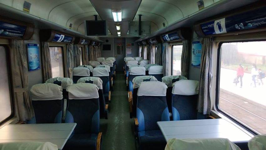 Giá vé tàu tết 2017 từ Hà Nội đi Sài Gòn