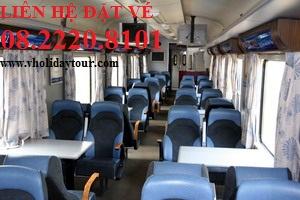 Bảng giá vé tàu SE22 đi Đà Nẵng - Huế tết 2017