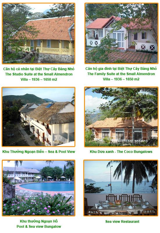 ATC resort, ATC Côn Đảo Resort, Khu du lịch ATC tại Côn Đảo, Phòng khách sạn tại khu du lịch ATC Côn Đảo
