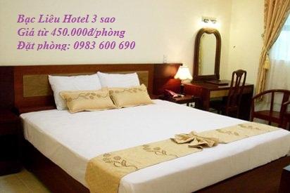 Bạc Liêu Hotel, khách sạn Bạc Liêu, Khách sạn ở Bạc Liêu, Khách sạn Bạc Liêu 3 sao