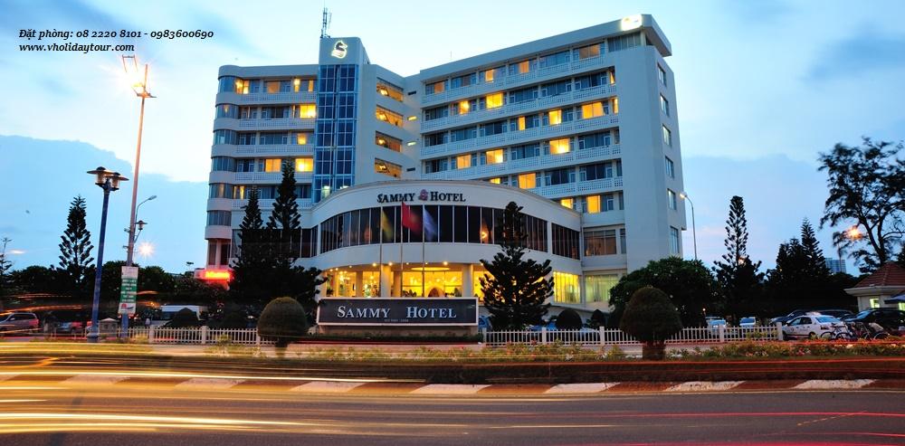 Sammy Vũng Tàu Hotel, khách sạn Sammy Vũng Tàu, Khách Sạn Sammy 4 sao tại Vũng tàu, khách sạn tại bãi sau Vũng Tàu
