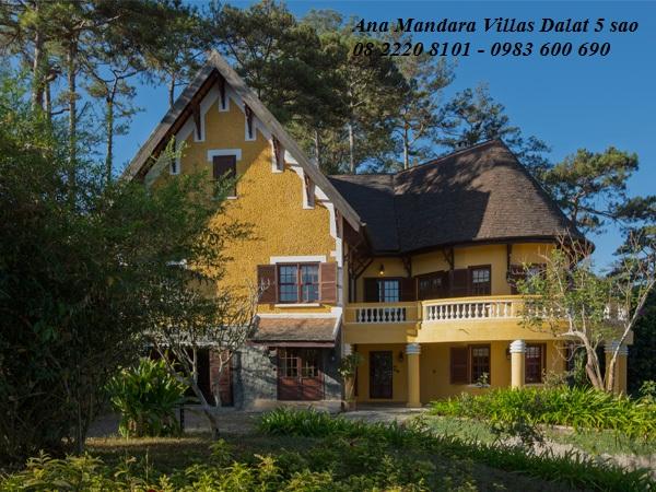 Ana Mandara Villas Dalat Resort & Spa (5 sao ), Ana Mandara Villas Dalat, Khách sạn 5 sao tại Đà Lạt