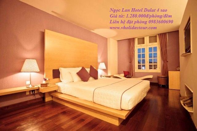 Ngọc Lan Hotel 4 sao tại Đà Lạt, Khách sạn Ngọc Lan Đà Lạt, Khách sạn 4 sao giá rẻ tại Đà Lạt