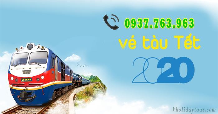 Giờ tàu tết 2020 chiều từ Sài Gòn, Giờ tàu từ Sài Gòn tết Canh Tý 2020